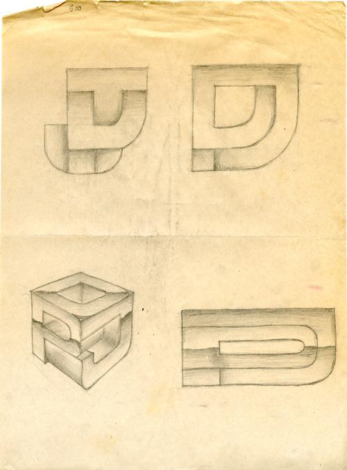 DPJ monogram studies