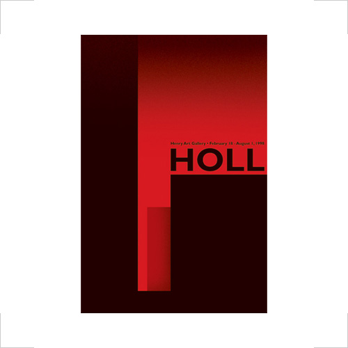 Steven Holl exhibition poster